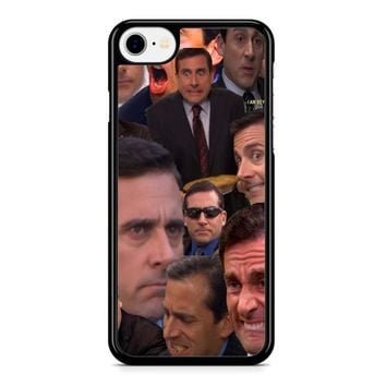 Michael Scott Collage 2 iPhone 8 Case