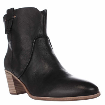 G.H. Bass & Co. Sophia Western Ankle Booties, Black, 11 US / 43 EU