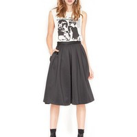 Volume midi skirt - Shop the latest Fashion Trends