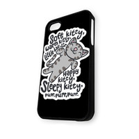 Big Bang Theory Soft Kitty Black iPhone 5/5S Case