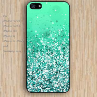 iPhone 5s 6 case sparkle teal blue dream phone case iphone case,ipod case,samsung galaxy case available plastic rubber case waterproof B731