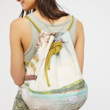 Free People Portobello Drawstring Backpack