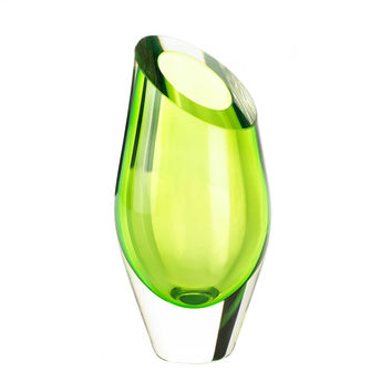 Glass Vase, Living Room Or Home Tables Small Glass Vases For Flowers