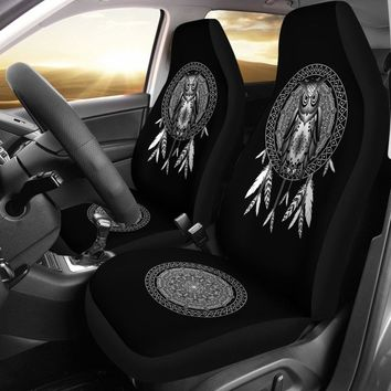 Owl Dream Catcher - Owl Car Seat Covers Universal Fit