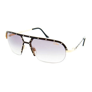 Cazal 9028 Black Gold Sunglasses