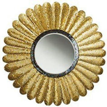 Product Details - Sunflower Mosaic Mirror