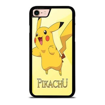 FUNNY CUTE PIKACHU POKEMON iPhone 8 Case