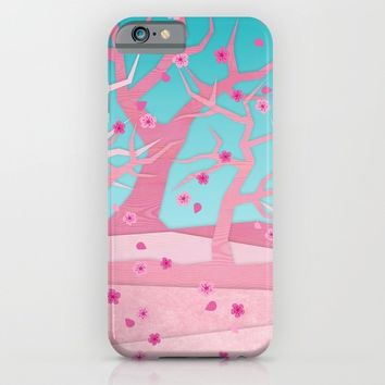 Spring trees iPhone & iPod Case by EDrawings38