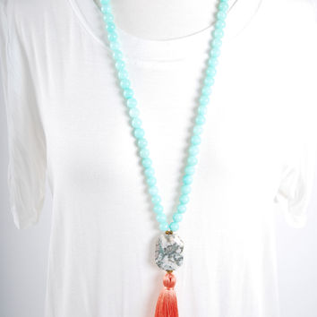 The Smith Necklace - Orange