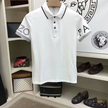 KENZO 2018 the latest version of the original single men's short sleeve lapel T-shirt, super type of a single product, very elements of style 006