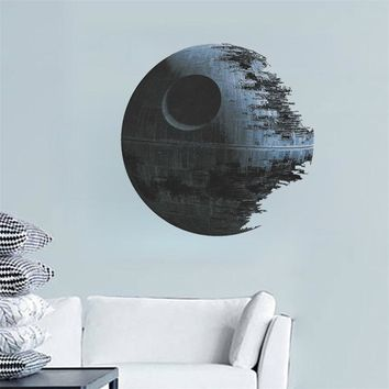 % movies Star Wars Death Star vinyl art wall stickers decals home decor removable kids nursery decal sticker fans kids gifts