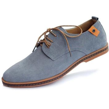Men's Oxfords Leather Casual Shoes