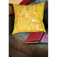 Thumbprintz You are my Sunshine Indoor Pillow - Walmart.com