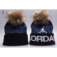 Perfect Jordan Women Men Embroidery Beanies Knit Hat Cap
