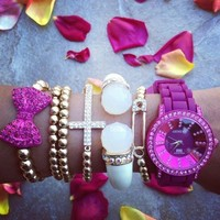 Pink La Vie Watch Set
