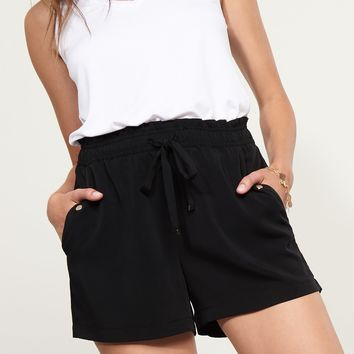 Soft Shorts With Pockets