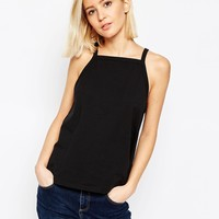ASOS Tank in Swing Shape with Square Neck