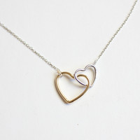 OPEN TWIN HEART -NECKLACE – BEUNIKI