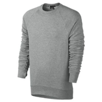Nike SB Everett Crew Fleece Men's Sweatshirt - Dark Grey Heather