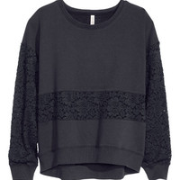 Sweatshirt - from H&M