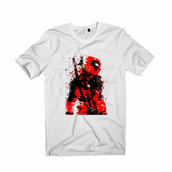dead pool art For T-Shirt Unisex Aduls size S-2XL