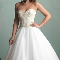 Sweetheart Wedding Gown by Allure Bridals