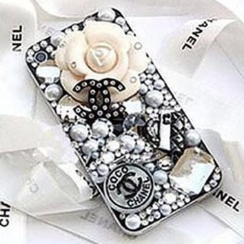 Chanel Art Deco iPhone Samsung Galaxy Phone by AnnasPhoneCases