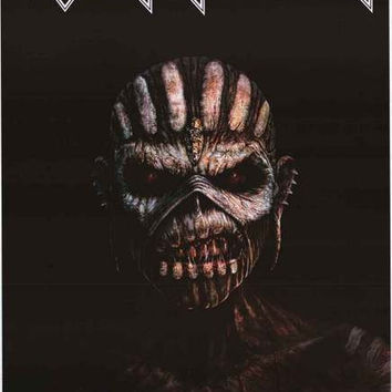 Iron Maiden Book of Souls Album Cover Poster 24x36