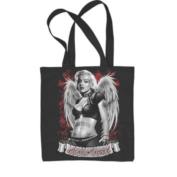 a659d97dcab6 Marilyn Monroe Lost Angel with Wings Shopping Tote Bag