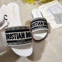 DIOR Summer Popular Women Casual Sandals Slippers Shoes