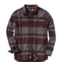 Men's Beacon Point Long Sleeve Flannel Shirt