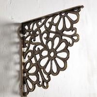 Fan Floret Bracket by Anthropologie Brown One Size House & Home