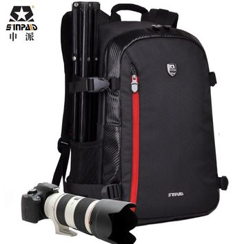 Large DSLR Bag Backpack Shoulder Camera Case for Nikon Canon Sony Fujifilm Digital Cameras