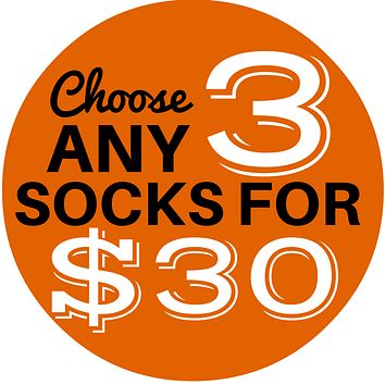 3 Sock Bundle - Men's