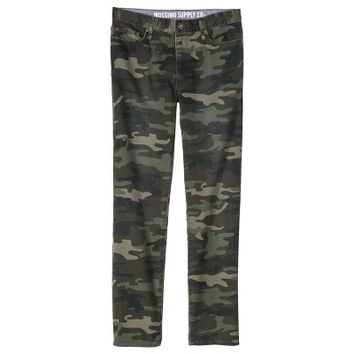 Mossimo Supply Co. Men's Five-Pocket Twill Camouflage Pants - Assorted Colors