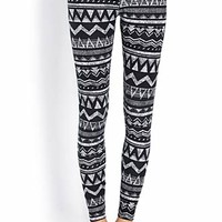 Quirky Zigzag Leggings