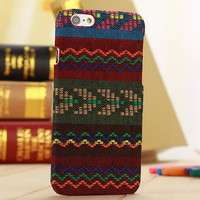 Handmade Aztec Cloth Ethnic Style iPhone 6 6s Plus Case Cover Gift-171