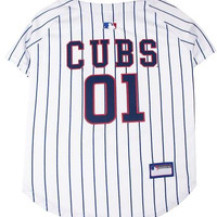 Chicago Cubs Baseball Dog Jersey Small