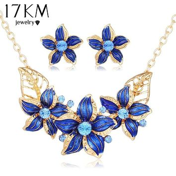 Flower Jewelry Set