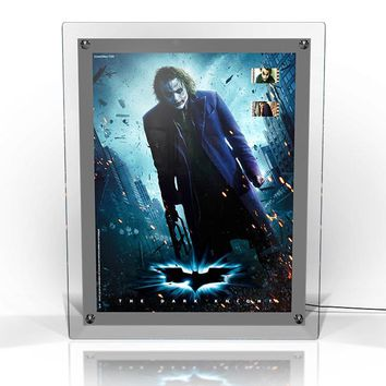 Batman Dark Knight (Joker Poster) Acrylic LightCell