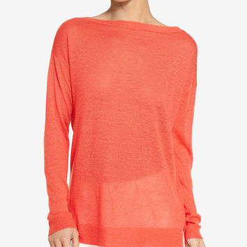 Lauren Ralph Lauren Lightweight Long-Sleeve Shirt - Sweaters - Women - Macy's