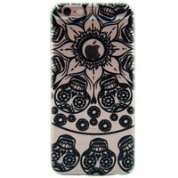 Newest Customized Black Hollow Skull Case Cover for iPhone 7 7 Plus & iPhone 5s se & iPhone 6 6s Plus + Gift Box-463-170928
