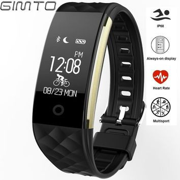 GIMTO Sport Smart Watch Children Kids Watches Heart Rate Monitor Digital Led Girl Waterproof Smart-watch Wrist Watch For Boy
