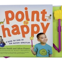 'Point to Happy' Kids Autism Book