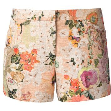 Tory Burch Floral Shorts