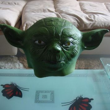 Star Wars alien mask latex Head Halloween Shrek group cos props party Ball