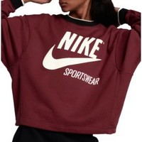 Nike Women's Sportswear Archive Crewneck Sweatshirt | DICK'S Sporting Goods