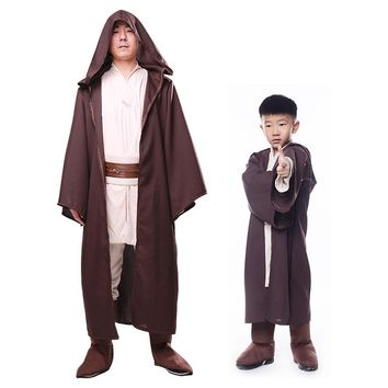 Children Star Wars cosplay costume Force Awakens Jedi Knight Anakin halloween costume for kid boy Anacarnival party fancy dress