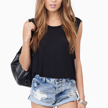 Sunset Denim Shorts