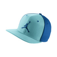 Jordan Jumpman Adjustable Hat, by Nike (Blue)